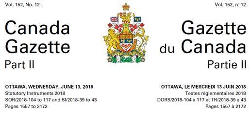 Le nouveau règlement sur la salubrité des aliments au Canada
